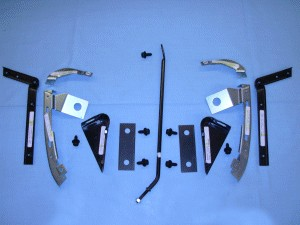 1973-79 C3 Corvette Basic Front Fiberglass Metal Reinforcement Kit