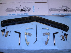 C3 Corvette 1973-1979 Deluxe Front Fiberglass Metal Reinforcement Kit