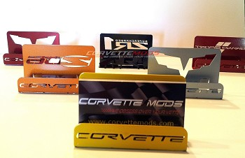 Corvette C6 Base, Grand Sport, Z06 & ZR1 Painted Business Card Holders