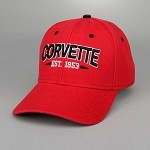 Corvette Vintage Red Hat