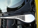 Corvette C5 97-04 COWL VENT POLISHED STAINLESS COVERS (2)