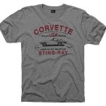 C3 C4 C5 C6 Corvette 1968-2013 Generations Strong T-Shirt