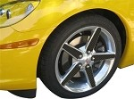 C6 Corvette 2005-2007 Hydrocarbon Carbon Fiber Wheel Spoke Accents