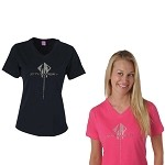 C7 Corvette Stingray 2014+ Ladies Rhinestone T-Shirt