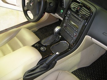 C6 Corvette 2005-2013 Hydro Carbon Fiber Center Console Bezel