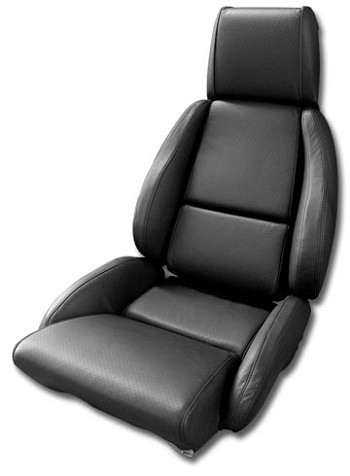 1984-1996 C4 Corvette Leather, Leather Like, and Mid Grade Leather Standard Seat Covers