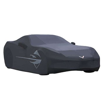 C7 Corvette Stingray 2014 + GM Outdoor Logo Car Cover Stingray Logos
