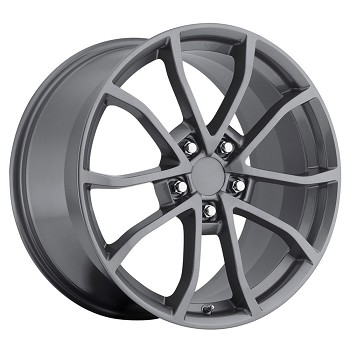Corvette C5/C4 97-04 84-96 Fitments 2013 Corvette 427 Centennial Special Edition Cup Style Wheels (Set) Comp Gray 17x8.5 / 18x9.5