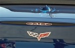 Corvette C6 5th Brake Light Trim Flame
