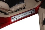 Corvette C6 GM Door Sill Plates - Multiple Finish Selections