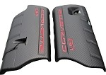 Corvette C6 LS3  Fuel Rail Covers in Carbon Fiber Look