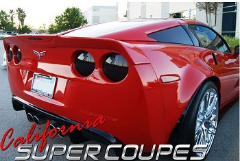 Corvette C6 05-13 California Super Coupe Rear Spoiler