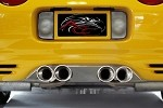 Corvette C5 97-04 Exhaust Filler Panel Corsa Pro Series