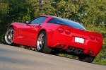 Corvette C6 Lingenfelter Non-Commemorative Rear Fasica