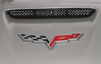 C6 Corvette 2005-2013 Z06 RaceMesh Nose Scoop Grille
