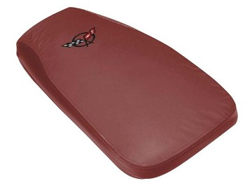 Corvette C5 97-04 Embroidered Leather Console Covers