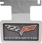 Corvette C6 Carbon Fiber Exhaust Enhancer Plate-Not For NPP Exhaust