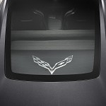 C7 Corvette Stingray/Z06 2014+ Cargo Shade Upper