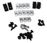 68-82 C3 Corvette Brake & Gas Line Clip Sets