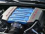 C7 Corvette Stingray 2014+ Custom Painted Plenum Cover Kit