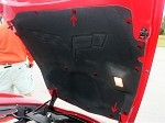 Corvette C6 Custom Painted Complete Hood Liner Fastner Kit