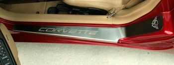 Corvette C5 97-04 Etched Doorsills