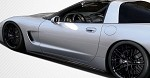 C5 Corvette 97-04 ZR1 Style Carbon Fiber Side Skirts