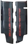 C7 Corvette Stingray 2014+ Hydro Carbon Fiber Fuel Rail Covers