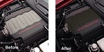 C7 Corvette Stingray 2014+ Hydrocarbon Carbon Fiber Engine Plenum Cover Overlay