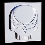 Corvette C6 C7 Speed Demon Billet Chrome Badges - Pair