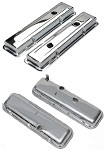 C1 C2 C3 Corvette 1959-1982 Chrome Valve Covers - Big/Small Block