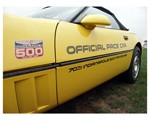 C4 Corvette 1986 Body Stripe Decal Kit