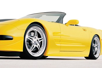 Corvette C5 97-04 RK Sport Lower Side Skirts
