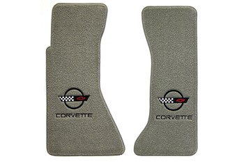 C4 1984-1996 Corvette Ultimat Lloyd Floor Mats with C4 Emblem & CORVETTE