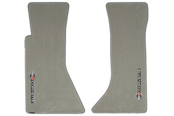 C4 1984-1996 Corvette Velourtex Lloyd Floor Mats with Sideways C4 Emblem