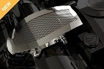 Corvette C5 97-04  Perforated Stainless Air Intake Duct Cover