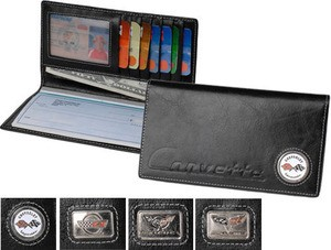 Corvette C4 C5 C6 Checkbook/Credit Card Holder & Wallet