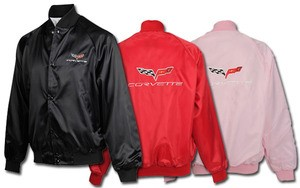 Corvette C4 C5 C6 Satin Jackets