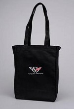 Corvette C3 C4 C5 C6 Canvas Tote