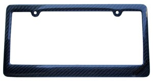 C7 Corvette Stingray 2014+ Carbon Fiber License Plate Frame