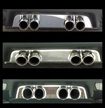 Corvette C6 Exhaust Filler Panels - All Exhaust Types Available!