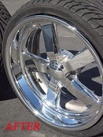 Corvette C5 C6 Aluminum Wheel & Billet Polishing *BASIC KIT*