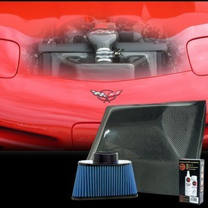 C5 Z06 Corvette 1997-2004 Hurricane Air Intake System