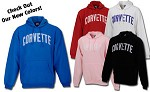 Hooded Corvette Sweatshirts