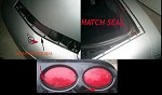 Corvette C5 97-04 Tail Lights, Hood Seal & Hatch Seal Combo