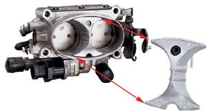 C4 85-96 Corvette Throttle Body Flow Booster