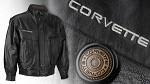 """The Rugged"" Corvette Leather Jacket Performance Inspired"