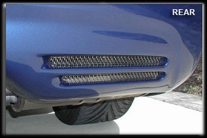 Corvette C5 97-04 Rear Bumper Screens