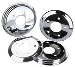 Corvette C5 & C6 Chrome Hub Rotor Covers