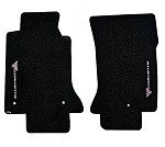 Corvette C5 97-04 Lloyds Floor Mats Sideways Logo Classic Loop Series